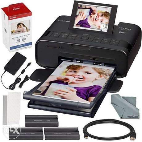 Canon Mobile Printer CP-1300 with paper KP-108
