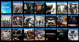 Playstation 4 games, COD, Fifa 17, Assasins Creed, Watch dogs etc