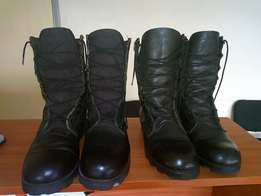 learther boots