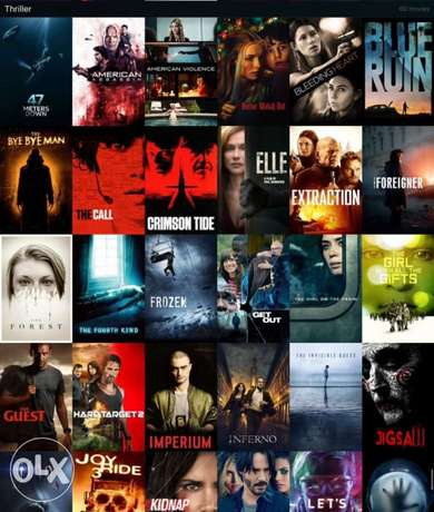 Full HD 1080p Movies and series collection