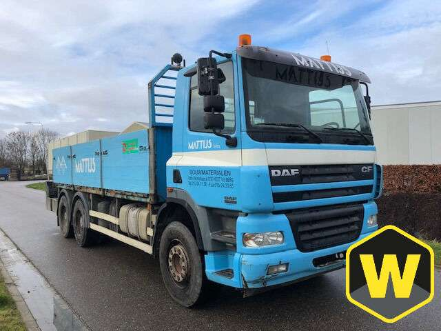 DAF CF85 380 6X4 Steel suspension - 2004