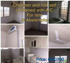 Chamber and Hall self contained For rent At Abelenkpe