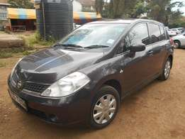 Very clean Nissan TIIDA, KCB, auto, 1500cc. Asian owned.