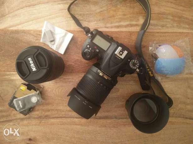 Nikon D7100 with 3 lenses for sale like new (price reduced)