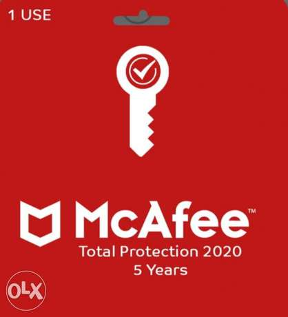 McAfee Total Protection 5 Years 1 Use