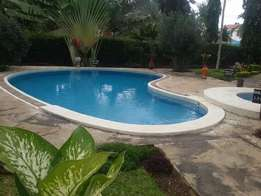 4 Bedroom Maisonette In a Half Acre Plot In Nyali Mombasa With S/Plool