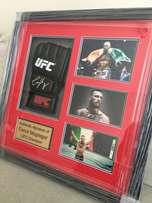 Conor Mcgregor handsigned UFC glove