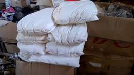 Feather pressure Pillows