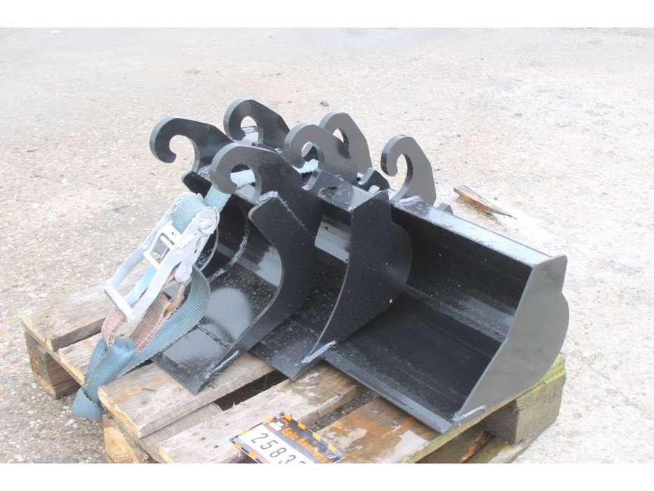 Graafbak  3x CW00 800mm 400mm 200mm