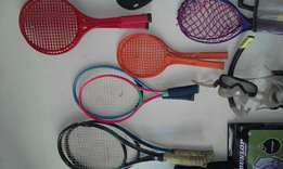 Tennis/Badminton racket sets.