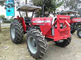 2016 MF385 4WD,85Horse Power with a Mf 3 Disc Plough , Perkins Engine