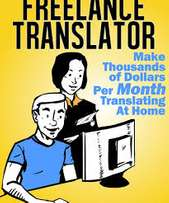 Freelance Translator - Train as a Translator & Start Earning