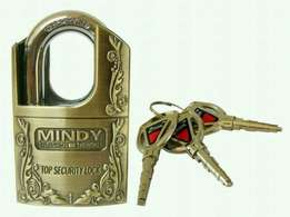Antitheft fool proof Mindy padlocks: free delivery