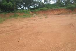 50x100ft at 9m negotiable with its tittle ready in Kabembe - Mukono