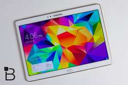 Samsung Tab S White 10.5 inch Wifi and 4G Tablet For Sale