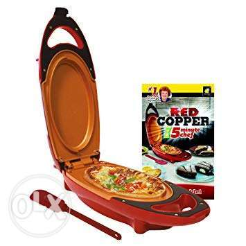 As Seen On TV Red Copper 5 Minute Chef
