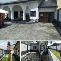3bedroom bungalow for sale at woji by port harcourt