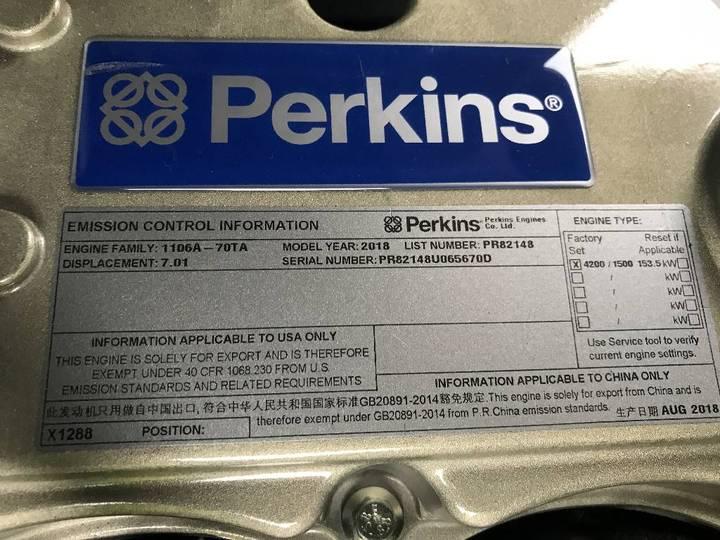 Perkins 1106A-70TA - 165 kVA Generator - DPX-15708 - 2019 - image 11