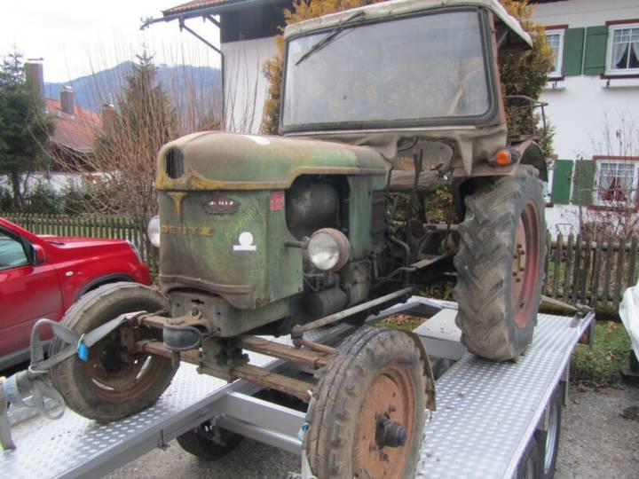 Deutz-fahr F 2 L 612/5 Motor 2 Zylinder 712 Originalzustand - 1959 - image 9