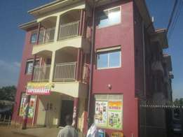 Strategically located 2 bedroom apartment in kiira at 650k