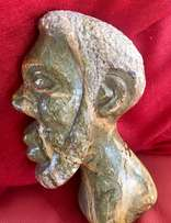 Carved African Stone Head