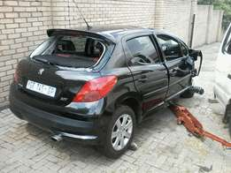 Peugeot 207 now stripping