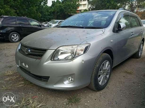 Clean Silver Valvematic 2010 model Fielder 1.8L KCP number Mombasa Island - image 2