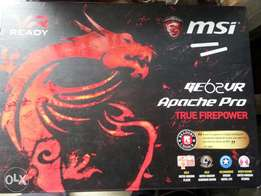 Mint condition MSI GE62VR Apache pro