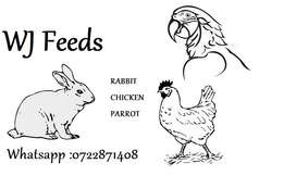 Feeds - Rabbit, Chicken and Parrot