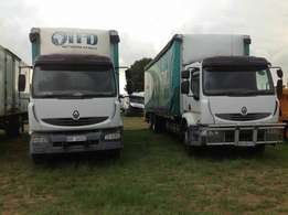Renault 270dci 12tonne curtain sides on special