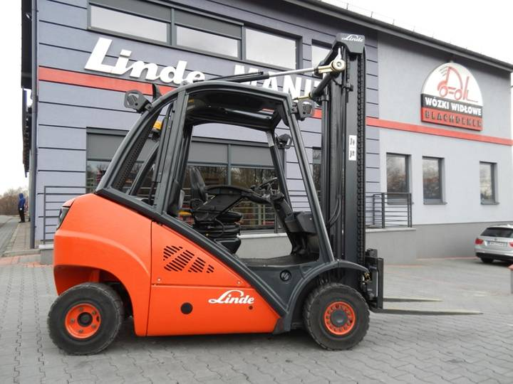 Linde H25D Side shift - 2012