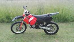KTM 200 EXC Enduro for sale.