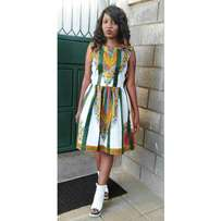 Dashiki ladies dress