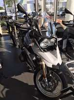 2017 R1200GS Trophy, only 20kms from new. Virtually new