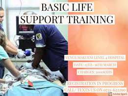 Basic Life Support Training in Makueni County