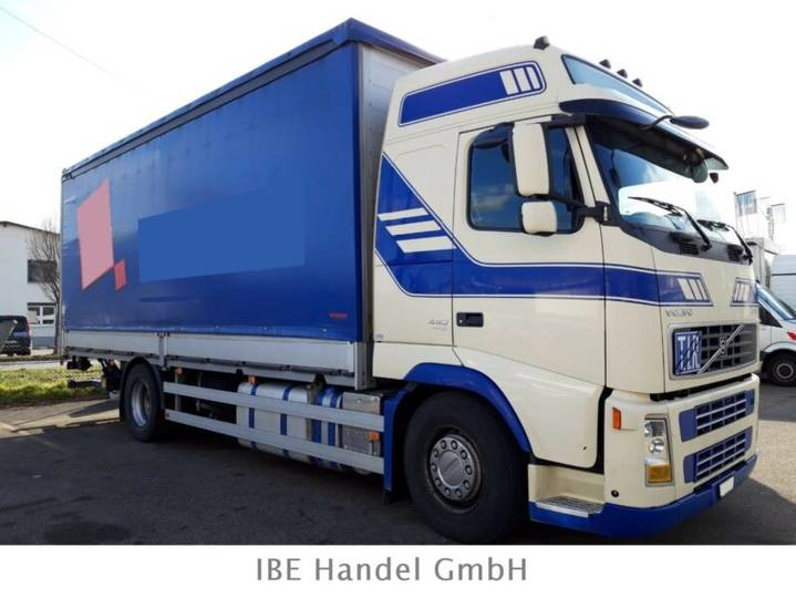 Volvo FH-440 4x2R, E5, Ladebordwand - 2008