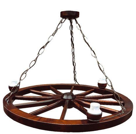 Lampa Do Altany Koło Wozu Koło Drewniane 71 Sucha Beskidzka