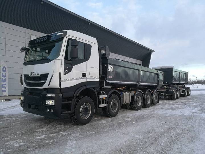Iveco X-way As 340x57 10x4 Slp - 2019