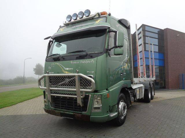 Volvo Fh16.610 / Woodtruck / Full Steel / 6x4 - 2007