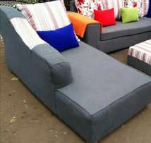 A luxury brand new sofa bed