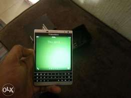 Sweet blackberry passport, latest silver and black edition