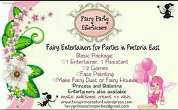Fairy Party Entertainers. Fairy Princess Fun Parties.