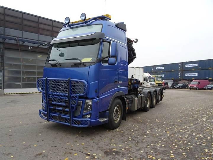 Volvo Fh16 580 8x4*4 Hmf Nosturi + Pdf-laite - 2009