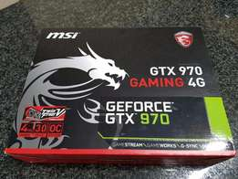 New NVIDIA gtx 970 4gb GDDR5 lowerd from 4000