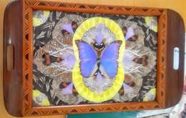 Butterfly winged tray - Vintage