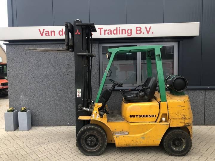 heftruck MITSUBISHI FG25 triplo600 freelift sideshift 1... - 1998