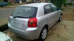Very Clean Tokunbo Toyota Corolla Hatch Back 04