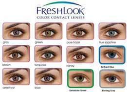 Fresh look contacts