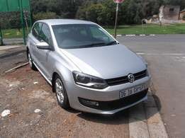 2014 vw polo 6 1.4 silver color 61000km R138000