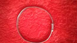 Sterling Silver baby's expanding christening bangle